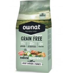 Ownat Prime grain free Adult volaille 14Kg