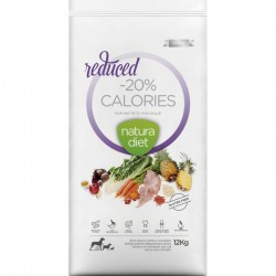 Croquettes Natura Diet Reduced -20% calories 12 Kg