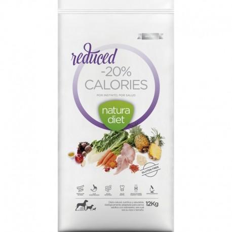 Croquettes Natura Diet Reduced -20% calories 12 Kg