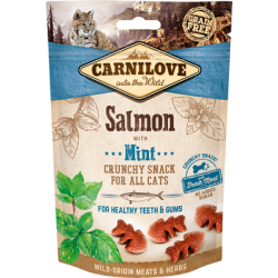 Carnilove crunchy snack au saumon 50g