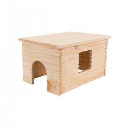 Maison toit plat cobayes 26 × 19 × 15 cm
