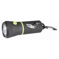 Lampe LED avec distributeur de sachets