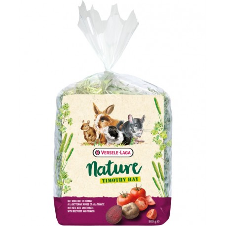 Foin avec betteraves et tomates Nature 500g