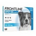 Frontline chien 10-20 Kg 4 pipettes