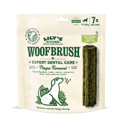 Woofbrush Medium friandise dentaire Lily's Kitchen X 7