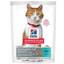 Hill's Science Plan Feline sterilised cat young thon 7 Kg
