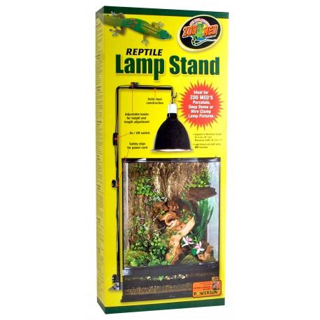Reptile Lamp stand Terrarium Zoomed