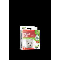 Pipettes X 3 Insect Plus Bio chiot/petit chien