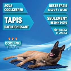 Tapis rafraichissant Cooling Mat 100 X 90 cm bleu