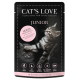 Cat's Love Patée au poulet pour chaton - sachet de 85g