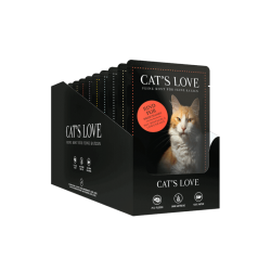Aliment en patée pour chat Multipack Cat's Love 12 X 85g