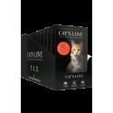 Cat's Love Patée pour chat Multipack 12 sachets de 85g