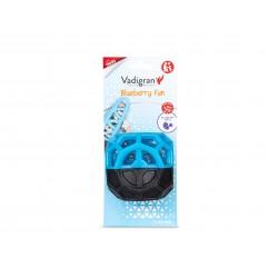 Vadigran TPR Blueberry Fun balle 8.5 cm - jouet pour chien