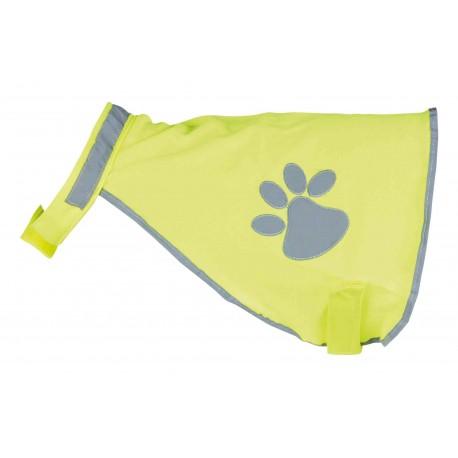Gilet de sécurité fluo pour chien M