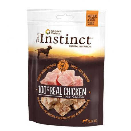Tasty cubes chicken 50g True instinct