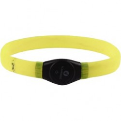 Collier Led Flamingo Visio light Jumbo jaune