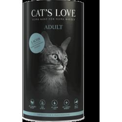 Cat's love Croquettes pour chat au saumon - 1 Kg