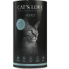 Croquettes pour chat au saumon Cat's love 1 Kg