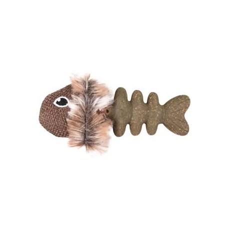 Jouet chat Delight Catnip poisson 9cm
