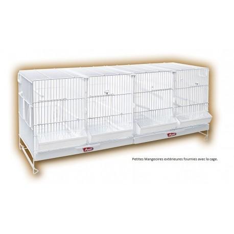 Pedros Cage d'élevage blanche 100cm
