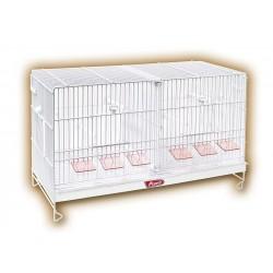 Pedros Cage d'élevage blanche 60cm
