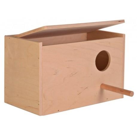 Trixie Nid en bois horizontal inséparable