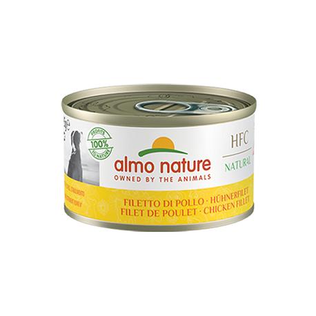 Almo Nature Boite pour chien au poulet HFC 95g