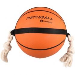 Flamingo Jouet chien Matchball Basket 24 cm