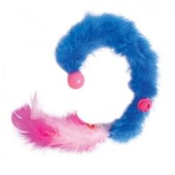 JW Cataction Featherlite Catnip Boa Boucing