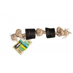 Bubimex Cornes de Buffle avec corde 35cm