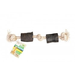 Bubimex Cornes de Buffle avec corde 45cm