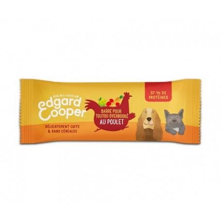 Edgar&Cooper Barres pour chien au poulet 25g