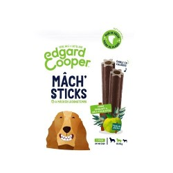 Edgar&Cooper Mâch'sticks pour chien pomme et eucalyptus moyen chien 160g
