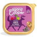 Edgar&Cooper Barquette gibier & canard pour chien 300g