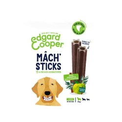 Edgar&Cooper Mâch'sticks pomme et eucalyptus grand chien 240g
