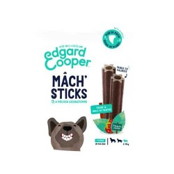 Edgar&Cooper Mâch'sticks fraise et menthe petit chien 105g