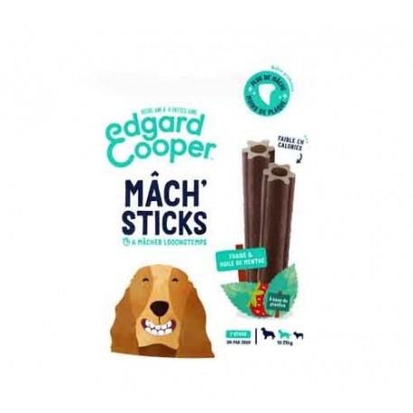Edgar&Cooper Mâch'sticks fraise et menthe moyen chien 160g