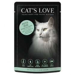 Cat's Love Patée à la dinde pour chat - sachet de 85g