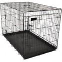 Flamingo Cage de transport pliable ebo chien 77X47X55 cm
