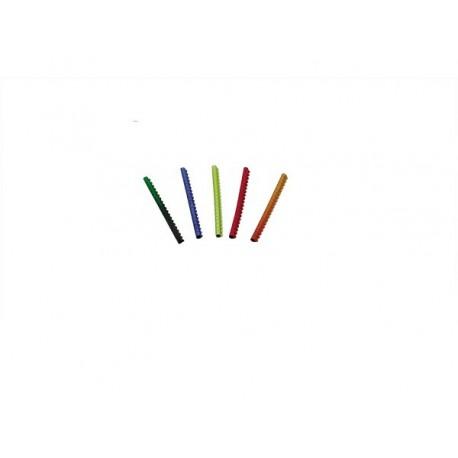 20 Bagues métals ouvertes 2.9 mm couleurs