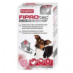 Pipettes X 3 Fiprotec petit chien 5-10 Kg