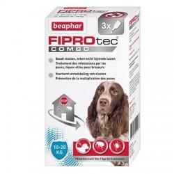 Pipettes X 3 Fiprotec chien moyen 10-20 Kg