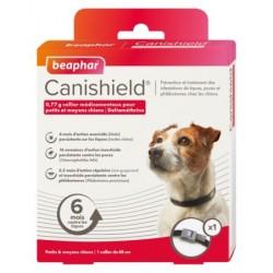 Canishield collier antiparasitaire pour chien S/M
