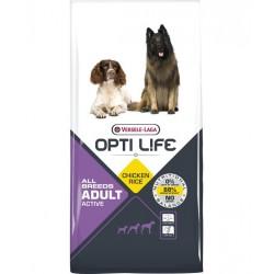 Opti life Adult Active Versele Laga - croquettes pour chien actifs - sac de 12.5 Kg