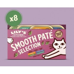 Lily's Kitchen Everyday Favourites Multipack Patées pour chat 8 X 85g