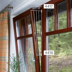 Trixie Grille Protection fenêtres, panneau latéral, 62X16/8 cm
