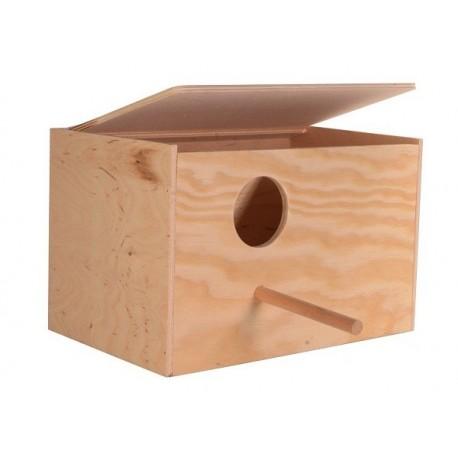 Trixie Nid en bois horizontal grande perruche