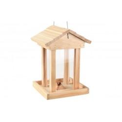 Mangeoire silo Mateo oiseau exterieur 15 x 16 x 21.5 cm