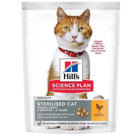 Hill's Science Plan Feline sterilised cat young poulet 1.5 Kg