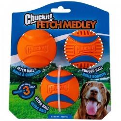 Chuckit Fetch Medley balles Medium